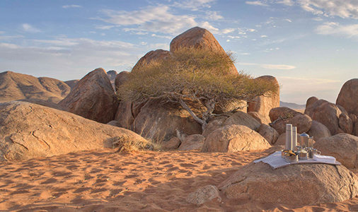 Guided tours namibia